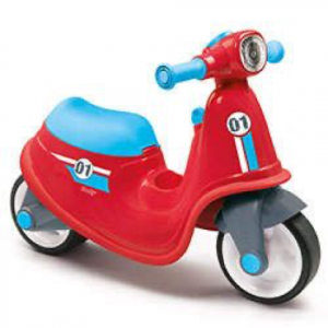 SMOBY SCOOTER ROSSO CAVALCABILE