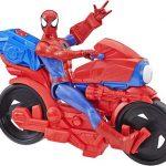 HASBRO SPIDERMAN TITAN MOTO