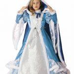 FANCY MAGIC COSTUME PRINCIPESSA DELLE NEVI BAMBINA – 7/8 ANNI