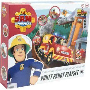 SAM IL POMPIERE PLAYSET PONTY PANDY