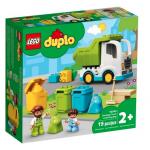 LEGO DUPLO CAMION DELLA SPAZZATURA E RICICLAGGIO