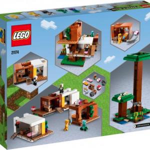 LEGO MINECRAFT LA CASA SULL'ALBERO MODERNA